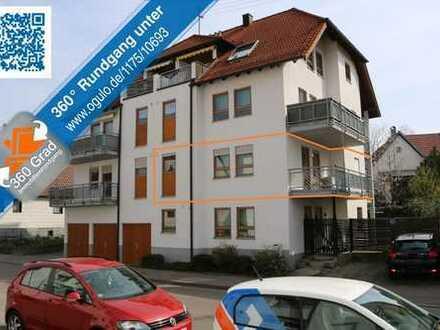 Für Kapitalanleger: Attraktive 3-Zimmer-Wohnung im 1.OG mit 2 Balkonen & Garage