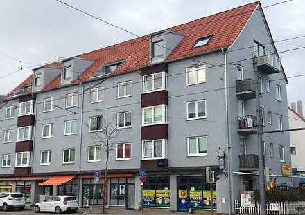 DG Neu-Ausbau, schöne 2 Zi. DG-Wohnung 22 in Hochzoll, Zuganbindung München, gute Verkehrsanbindung