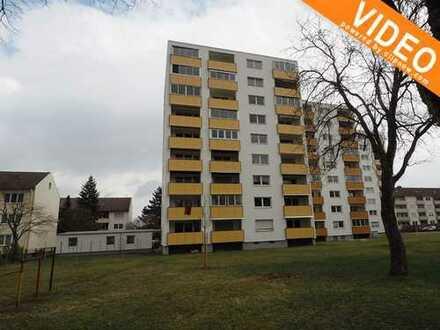3 ZKB mit Wintergarten und super Aussicht in Haunstetten. Sofort beziehbar.