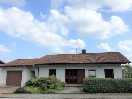 Einfamilien-Haus mit Einliegerwohnung in Tübingen-Hagelloch: Wohnen in Ruhe und mit weitem Blick