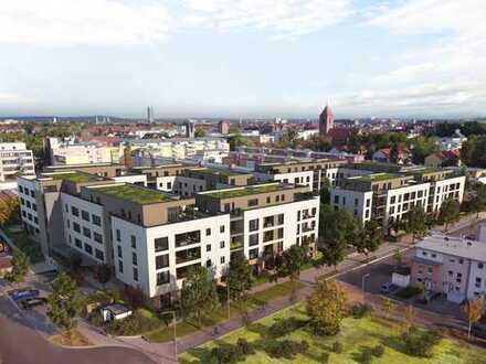 Großzügiges Penthaus mit 3 Zimmern, Süd-Balkon und Tageslichtbad in bevorzugter Wohnlage
