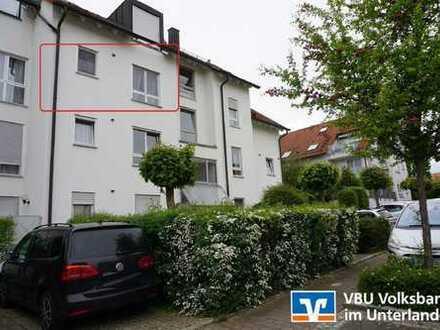 VBU Immobilien - Gemütliche Wohnung über den Dächern von Brackenheim