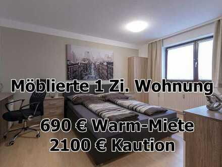 ab sofort - Möbliertes Apartment - vollständig ausgestattet - Hechingen