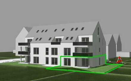 3 ZKB mit Garten und Terrasse, Whg 3