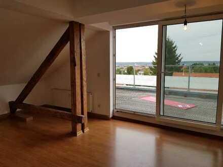 3-Zimmer Wohnung mit traumhafter Dachterrasse sofort bezugsfrei!!!
