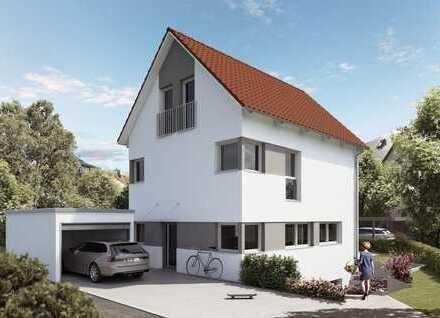 Neubau - Einfamilienhaus mit ELW in Korntal - schlüsselfertig - Mieteinnahmen statt Zinsen