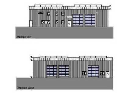 NEUBAU – Lager-/Produktionshalle mit modernen Büro-/Sozialflächen im Gewerbehof Gronau