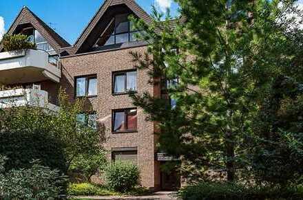 Helle Dachgeschoss-Maisonette-Wohnung mit Traumterrasse