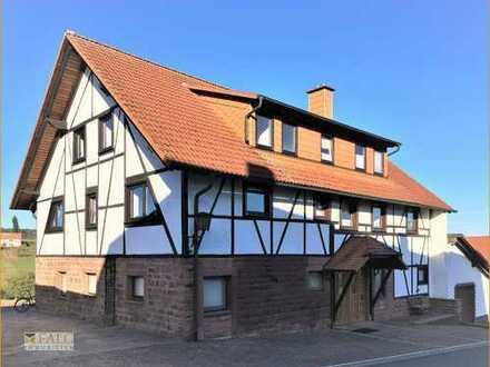 !! Reserviert!! Ruhige Dachgeschoss- Wohnung mit Ausblick. Natur-nah Wohnen da wo Andere Urlaub ....