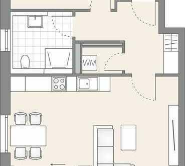 Tolle 2-Zimmer Wohnung mit 2. OG (509)