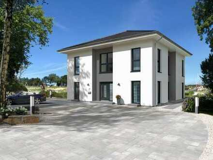 Großzügige Villa KFW 55 für die ganze Familie mit Grundstück in Lauingen