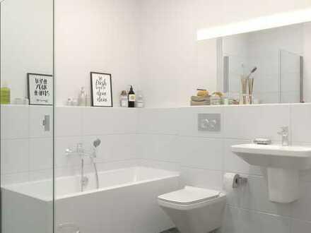 Großzügige 2-Zimmer-Wohnung mit Tageslichtbad und Gartenterrasse im lebenswerten Bad Nauheim