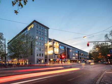 HELIO Center: ca. 28 m² Werbefläche / Verkaufsbüro im Erdgeschoss am Augsburger HBF