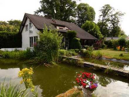 """""""Gönnen Sie sich dieses Wohngefühl"""" freistehendes EFH in Naturidylle/Wochenendhausgebiet"""