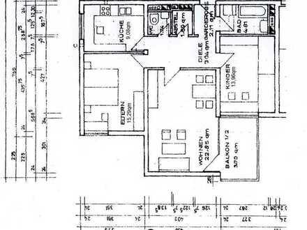 Sehr schöne 3-Zimmer Wohnung in Coburg mit Traumblick