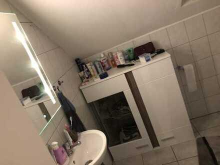 Freundliche 2-Zimmer-DG-Wohnung mit Balkon und Einbauküche in Rehborn