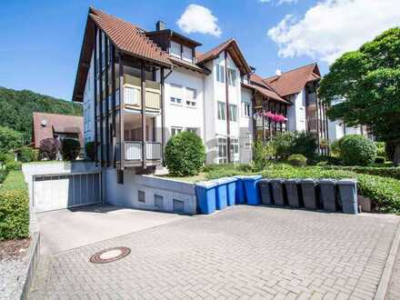 Sonnige Schwarzwaldlage: Helle, bezugsfreie 3-Zimmer-Maisonettewhg. mit Südbalkon bei Freiburg