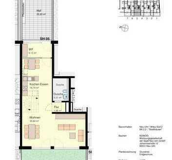 Ansprechende 4-Zimmer-Wohnung mit Balkon und EBK in Neu-Ulm