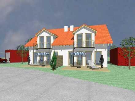 *IHR TAUMHAUS* Doppelhaushälfte in KFW Plus Bauweise inkl. Keller und Grundstück