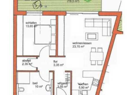 Coole 2 Zimmerwohnung im Neubau