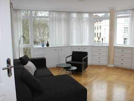 Möblierte 2-Zimmer-Wohnung mit Balkon in bester Nordendlage