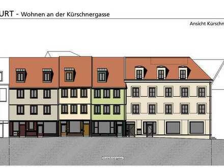 Stadthaus in der Erfurter Altstadt mit Tiefgarage