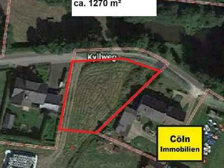 Schönes Baugrundstück ca. 1270 m² beim Kronburger See voll erschlossen
