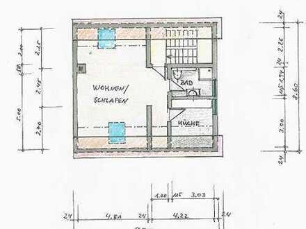 390 €, 50 m², 1 Zimmer