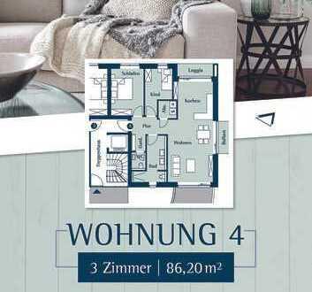 Schicke 3 Zimmerwohnung im Hochparterre direkt am Klostergarten in Husum
