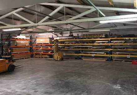 Langenberg, ca. 2.900 m² Hallen- und Produktionsfläche