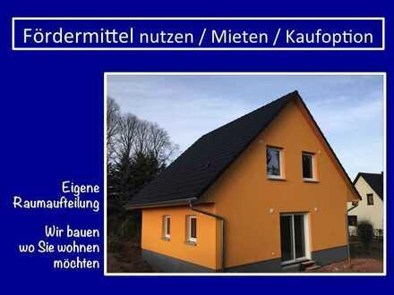 unser Klassiker - dieses Haus können wir auch mit 5 Zimmer bauen - für Home Office