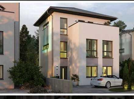 Townhouse - ein echtes Raumwunder - auch als DHH oder Kettenhaus, Grundstückservice für OKAL Kunden