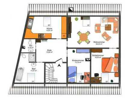 EBK, Tageslichtbad, Gäste-WC, Gartennutzung ... PERFEKT !!!