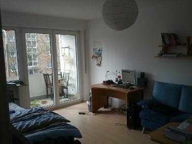 Möbliertes 22qm Zimmer in 2er-WG