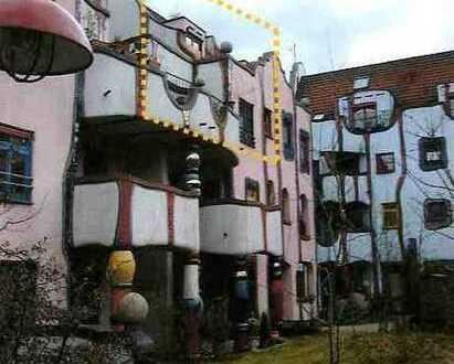 3 1/2 Zi. im Hundertwasser Kunstbauwerk, Maisonetten-Whg.