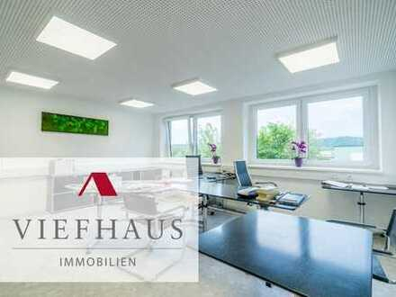 Erstbezug nach Kernsanierung: Klimatisierte Büroräume (ca. 250m²) im 1.OG im Gewerbegebiet Veitsh...