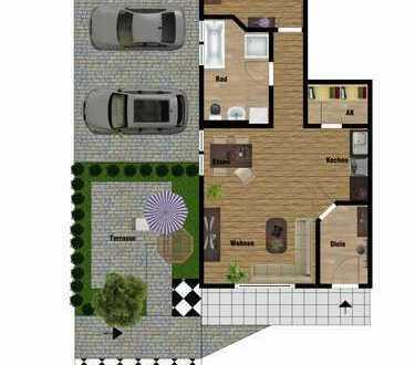 Moderne 2-Raumwohnung *ruhige Lage* mit EBK und Fußbodenheizung