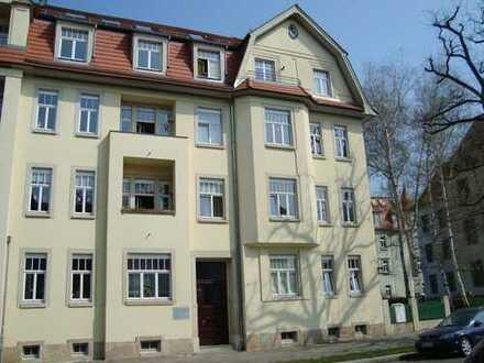 MSH -Wohnen in Dresden-Striesen 2-Zimmer-Wohnung im 2.OG mit Balkon