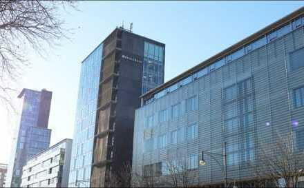 Bürofläche mit ca. 165 m² im 1. OG in einem Nebengebäude des Bahnhofturms