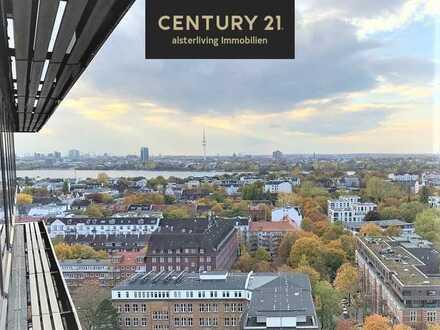 Seltene Gelegenheit: City-Apartment über den Dächern von Hamburg