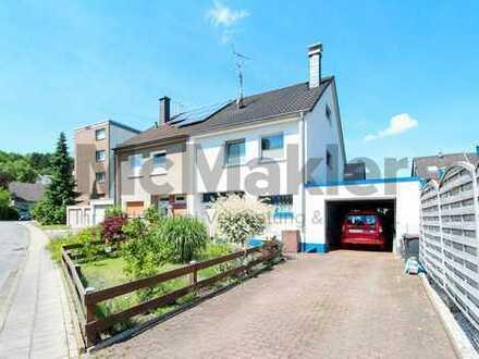 Familienwohntraum in Hagen-Rummenohl: 4-Zi.-DHH mit Garten und Doppelgarage