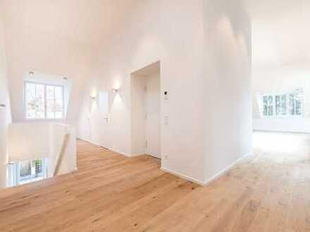 Exklusives 4-Zimmer-Luxus-Penthouse mit privatem Liftzugang in der Villenkolonie Obermenzing