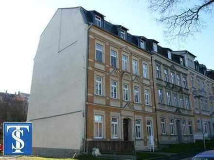 Bezugsfreie 1-Zimmer-Wohnung im Dachgeschoss in Plauen (Südvorstadt)