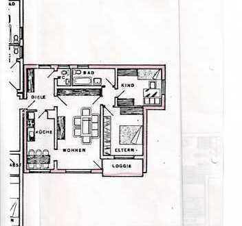 Gepflegte 3-Zimmer-Wohnung mit Balkon und EBK in Iserlohn