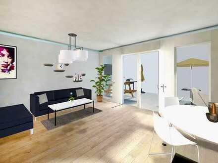 FELDMOCHING: 2-Zimmer-Gartenwohnung mit großem und separatem Hobbyraum