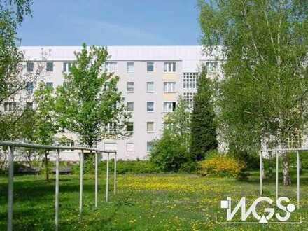 Schöne 2-Zimmer-Erdgeschosswohnung mit Balkon und EBK in Dresden