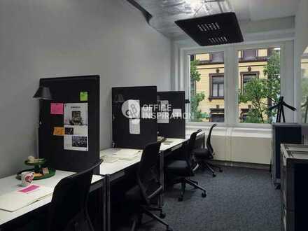 Flexible und abschließbare Büros im Coworking Space in Stuttgarter Stadtzentrum