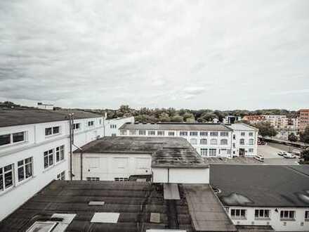 Loft-Büro im Heinrich-Büssing-Hof - arbeiten im urbanen Umfeld in Braunschweig