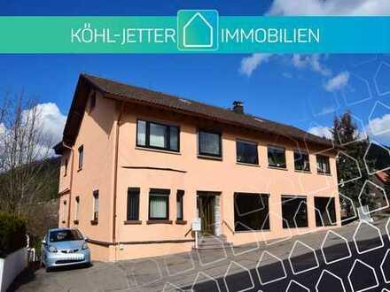 Flexibel nutzbares Gewerbeobjekt mit Bürobereich und separater Wohnung in Burladingen-Hausen!