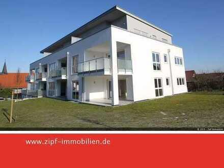 **Neuwertige 2-ZKB-Penthouse-Wohnung mit Schloßblick - Fahrstuhl und Tiefgarage**